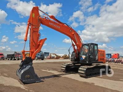 2017 HITACHI ZX225USRLC-6 Hydraulic Excavator