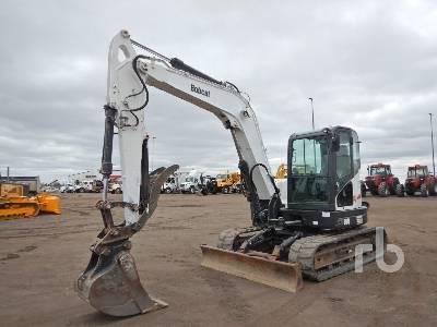 2012 BOBCAT E80A Midi Excavator (5 - 9.9 Tons)