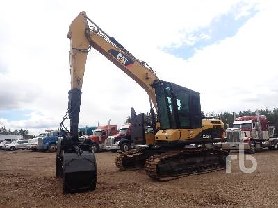 2015 CATERPILLAR 320D FM Crawler Log Loader