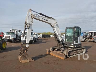 2015 BOBCAT E85 Midi Excavator (5 - 9.9 Tons)
