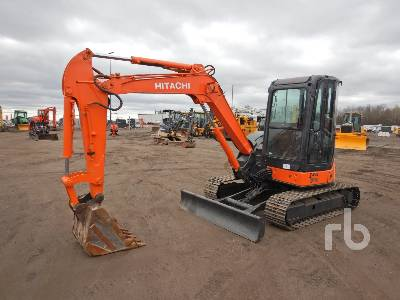 HITACHI ZX50U-2 Mini Excavator (1 - 4.9 Tons)