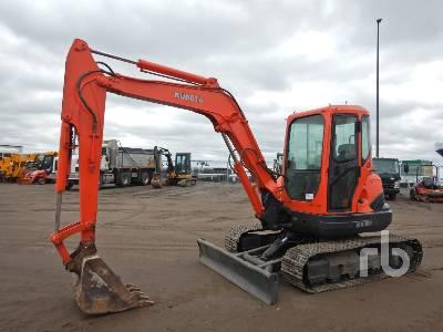 KUBOTA KX161-3 Mini Excavator (1 - 4.9 Tons)
