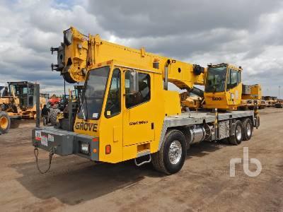 2005 GROVE TMS500E 40 Ton 6x4 Hydraulic Truck Crane