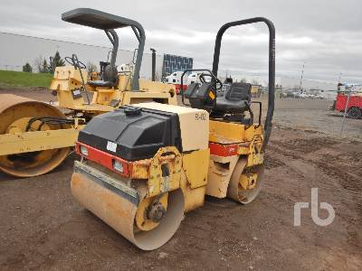 2002 DYNAPAC CC122 12 Series Tandem Vibratory Roller