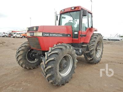 1990 CASE IH 7110 Magnum MFWD Tractor