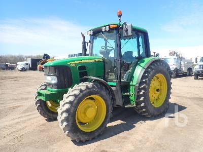 2007 JOHN DEERE 6430 MFWD Tractor