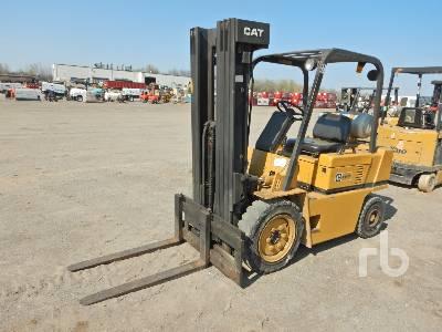 1987 CATERPILLAR V50D 4550 Lb Forklift