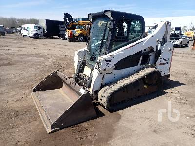 2015 BOBCAT T590 2 Spd High Flow Multi Terrain Loader