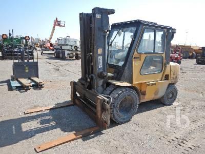 2008 CATERPILLAR DP45K 8450 Lb Forklift