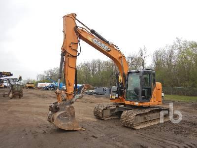2015 CASE CX145C SR Hydraulic Excavator