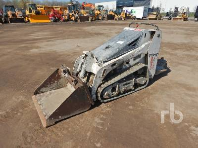 2014 BOBCAT MT52 Walk Behind Compact Track Loader