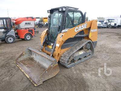 2018 CASE TR270 Compact Track Loader
