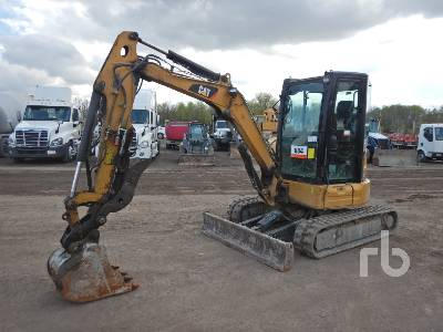 2017 CATERPILLAR 303.5E2 CR Mini Excavator (1 - 4.9 Tons)