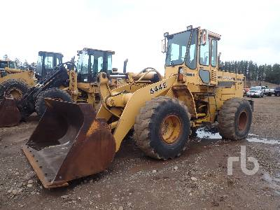 1990 JOHN DEERE 644E Wheel Loader