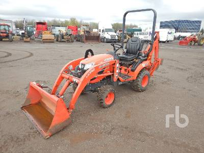 2017 KUBOTA BX23S 4x4 Loader Backhoe