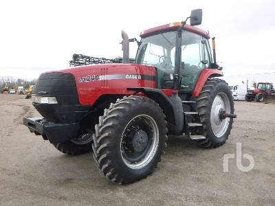 1999 CASE IH MX240 MFWD Tractor