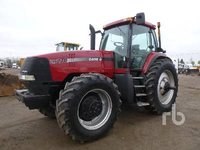 2000 CASE IH MX270 MFWD Tractor