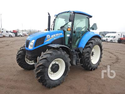 2013 NEW HOLLAND T5.95 MFWD Tractor