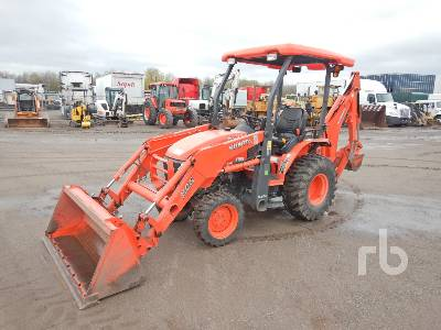 2018 KUBOTA B26 4x4 Loader Backhoe