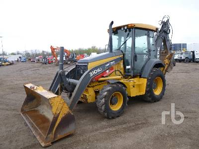 2010 JOHN DEERE 310SJ Loader Backhoe