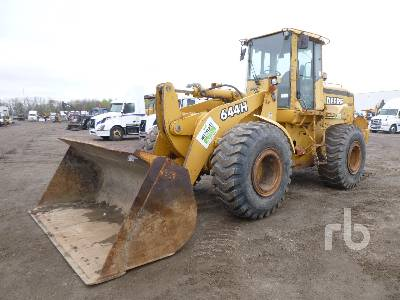 2001 JOHN DEERE 644H Wheel Loader