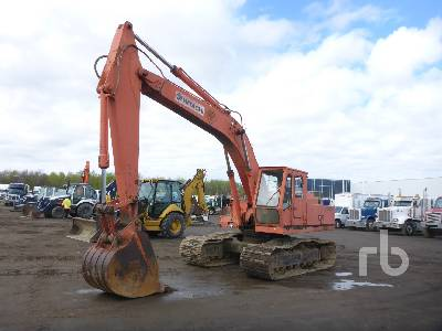 1981 HITACHI UH082 Hydraulic Excavator