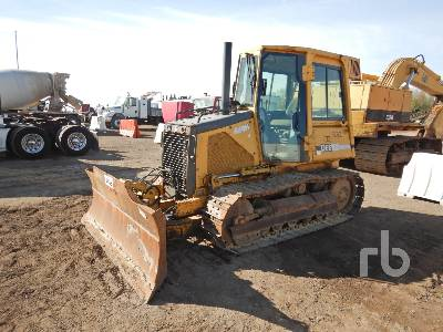 2001 JOHN DEERE 450H LT Crawler Tractor