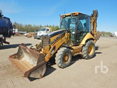 2008 CATERPILLAR 420EIT 4x4 Loader Backhoe