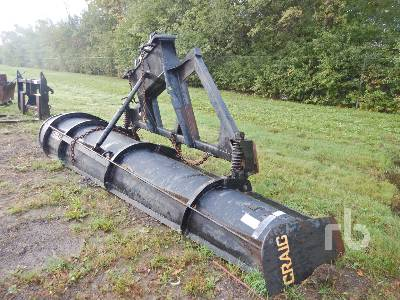 CRAIG Q/C 14 Ft One Way Plow Motor Grader Attachment - Other