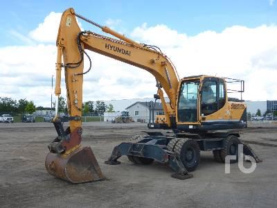 2013 HYUNDAI ROBEX 170W-9 Mobile Excavator
