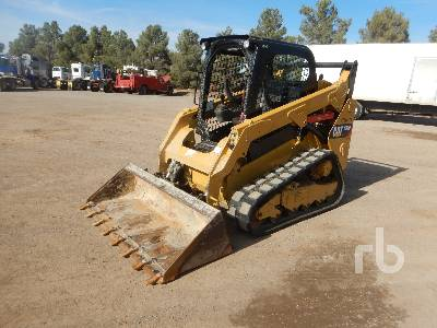 2017 CATERPILLAR 259D 2 Spd Compact Track Loader
