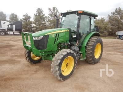 2016 JOHN DEERE 5100E MFWD Tractor