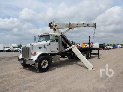 2006 PETERBILT 357 T/A w/National 1100 27 Ton Boom Truck