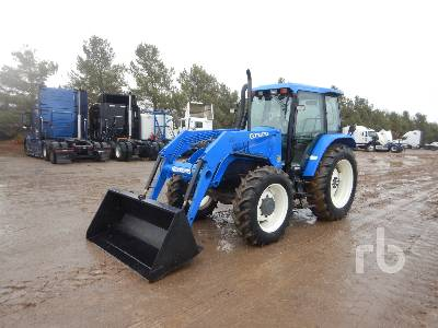NEW HOLLAND TS110 MFWD Tractor