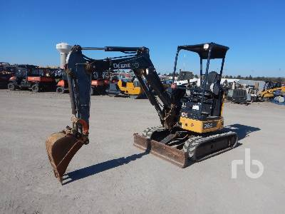 JOHN DEERE 26G Mini Excavator (1 - 4.9 Tons)