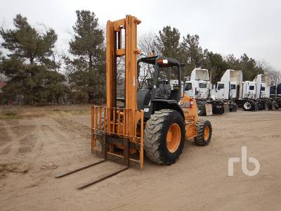 2014 CASE 586H 6000 Lb Rough Terrain Forklift