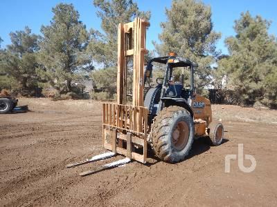 2014 CASE 586H 14750 Lb Rough Terrain Forklift