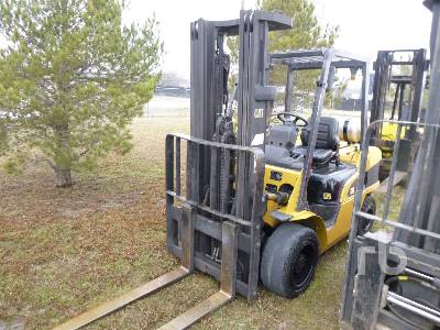 2004 CATERPILLAR 7000 Lb Forklift