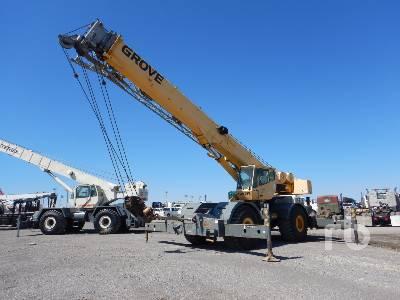 2000 GROVE RT760E 60 Ton 4x4x4 Rough Terrain Crane