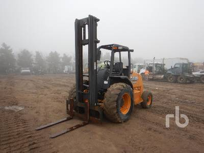 2015 CASE 586H 6000 Lb Rough Terrain Forklift