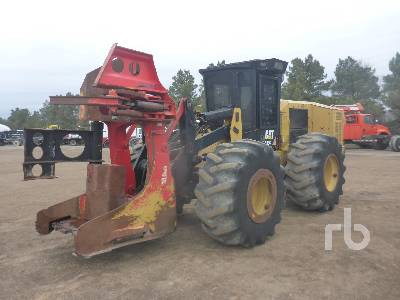 2014 CATERPILLAR 553C Feller Buncher