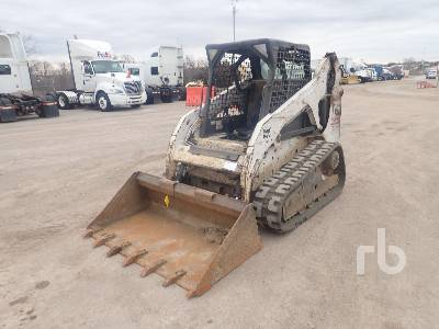 2011 BOBCAT T190 High Flow Compact Track Loader