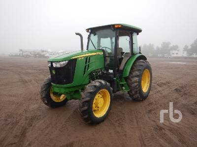 2016 JOHN DEERE 5085E MFWD Tractor