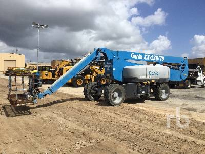 2018 GENIE ZX-135/70 4x4 Articulated Boom Lift
