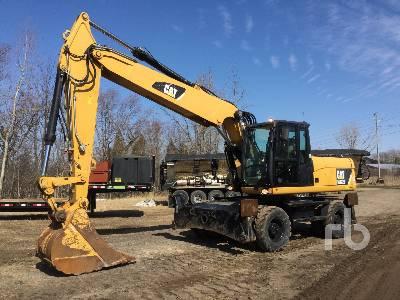 2014 CATERPILLAR M322D Mobile Excavator