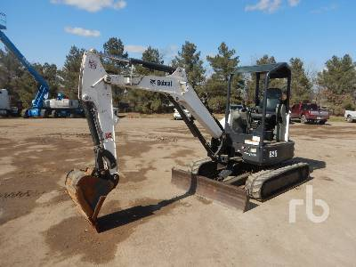2016 BOBCAT E35 Mini Excavator (1 - 4.9 Tons)