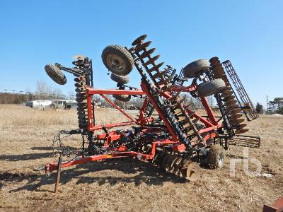 2008 CASE IH TUBO 340 DISC 35 Ft Offset Vertical Disc