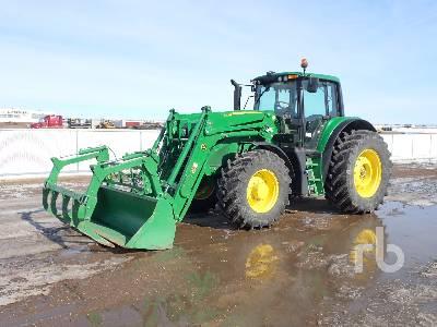 2017 JOHN DEERE 6155M MFWD Tractor