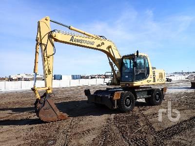 2003 KOMATSU PW170ES-6KA Mobile Excavator