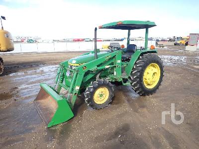 1996 JOHN DEERE 1070 MFWD Tractor